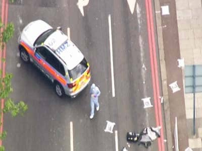 Video : British soldier hacked to death in London street in suspected militant attack