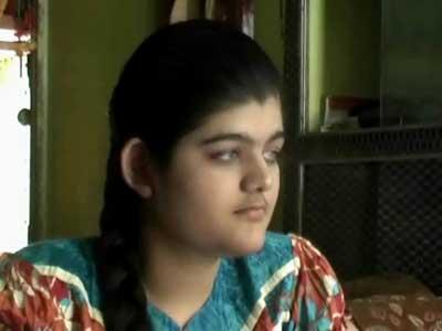 Video : Visually impaired girl from Damoh tops Madhya Pradesh board exam