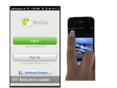Video : A quick look at WeChat