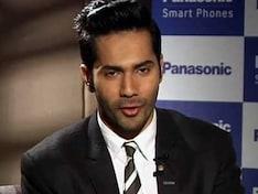 Varun Dhawan at the launch of Panasonic P51