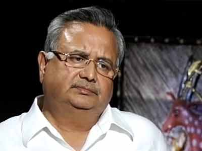 Video : No talks, no negotiations with Naxals: Chhattisgarh Chief Minister