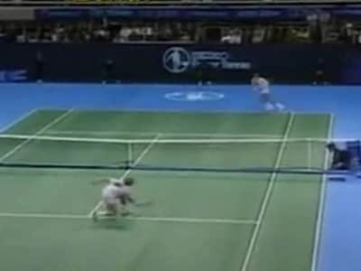 Video : The World This Week: Lendl vs Becker (Aired: October 1990)