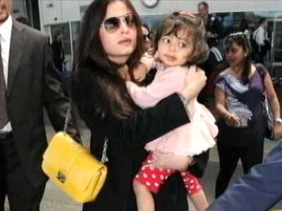Video : Aishwarya chooses daughter over 'Godfather'
