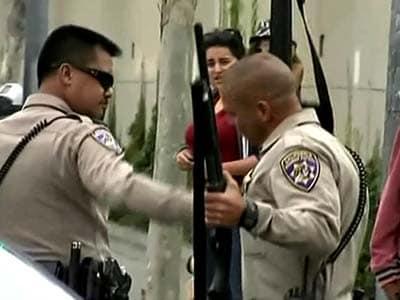 Video : Gunman shot dead after 6 die in California shooting spree