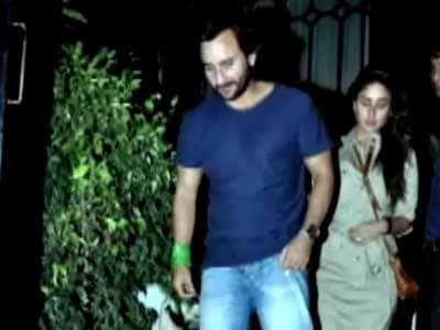 Video : Saif and Kareena's dinner date