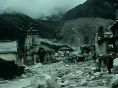 Video : Watch latest video of Kedarnath, still inaccessible by road