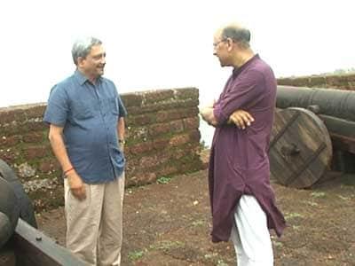 Video : Walk The Talk with Manohar Parrikar (Part I)