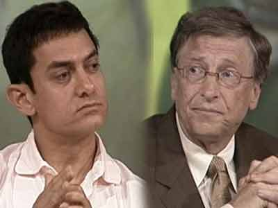 Video : India Questions Bill Gates and Aamir Khan (Part 2)
