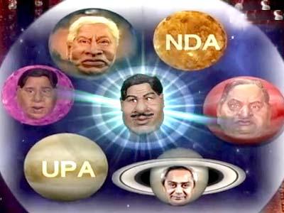 Video : A psychic's interpretation of Indian politics