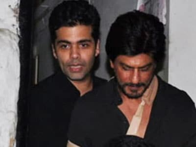 Video : SRK, Karan: Friends for life