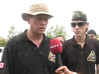 Video : Moved by Uttarakhand tragedy, Canadian father and son come forward to help