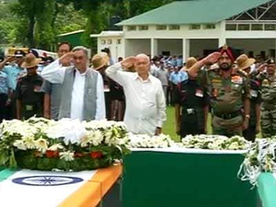 Video : Uttarakhand: Guard of Honour for 20 bravehearts who died in crash