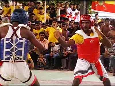 Video : Over 350 participants for Martial Arts competition in Kerala