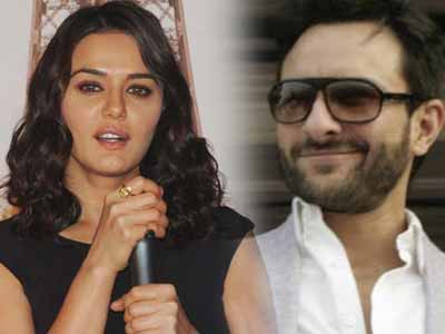 Saif Ali Khan stands up for good friend Preity Zinta