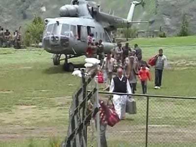 Video : Uttarakhand air rescue operations called off in a hurry?