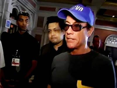 Video : Looking for Indian actors to be in my movie: Jean Claude Van Damme
