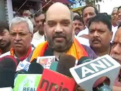 Videos : नरेंद्र मोदी के करीबी अमित शाह ने छेड़ा मंदिर राग