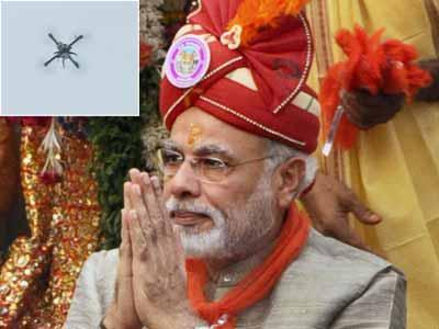 Video : UAVs keep vigil as Narendra Modi flags off Jagannath rath yatra