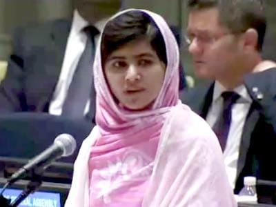 Video : Taliban thought bullets would silence us, but failed: Malala at UN