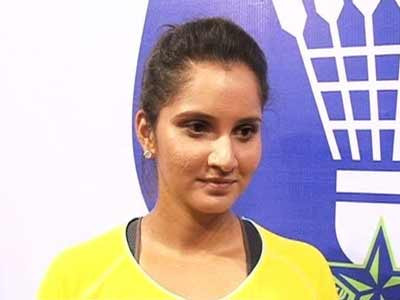 Video : Sania Mirza signed as brand ambassador by Krrish Group for IBL