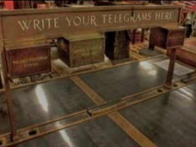 Video : Telegrams. Stop. End. Stop