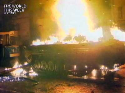 Video : The World This Week: Soviet Union reshapes itself into a new confederation (Aired: September 1991)