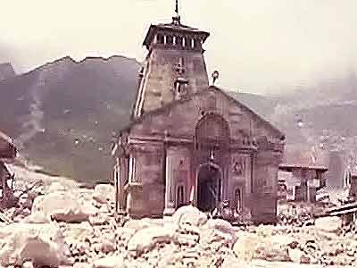 Video : केदारनाथ मंदिर की दीवारों में कई दरारें