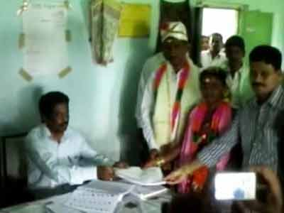 Video : In Andhra, some marriages are made for elections