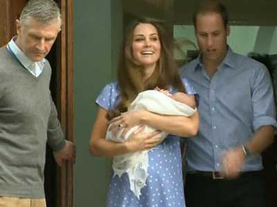Video : We're still working on a name: William, Kate