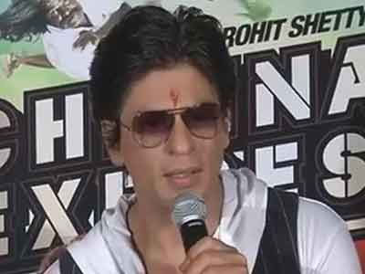 Shah Rukh Khan promotes Chennai Express in Bhopal