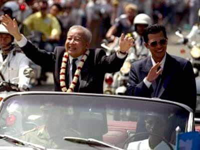 Video : The World This Week: The 'God King' of Cambodia (Aired: November 1991)