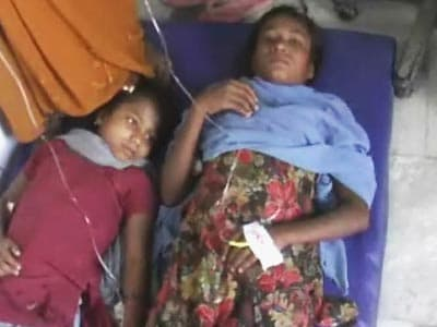 Video : Water in Bihar school makes children sick