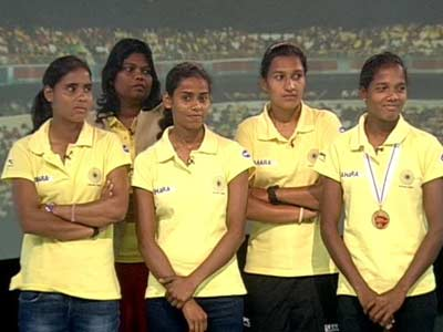 "Video : Meet India's ""Chak De"" girls"