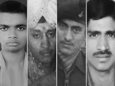 Video : Five brave soldiers who died for the country