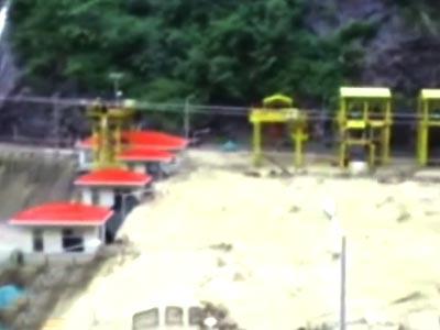 Video : उत्तराखंड : जल विद्युत परियोजनाओं को सैलाब से भारी नुकसान