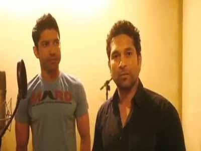 Video : Sachin recites Marathi poem to promote women's rights