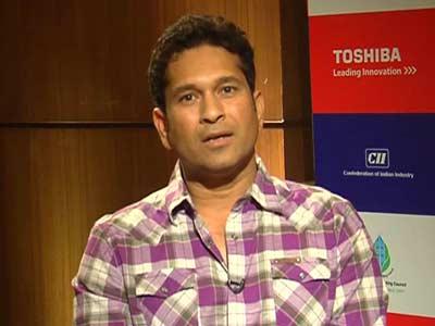 Video : Sachin Tendulkar joins Toshiba's 'save the planet campaign'