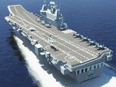 Video : INS Vikrant, India's first indigenous aircraft carrier to be launched on Monday
