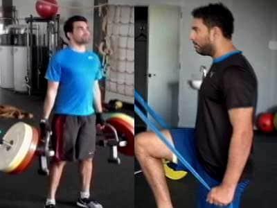 Video : Mission 2015 World Cup: Yuvraj Singh, Zaheer Khan finish six-week training in France