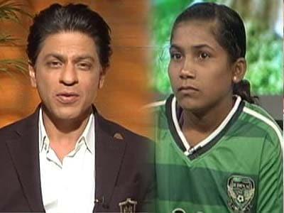 Video : Sport is a huge equaliser as it fosters team spirit: Shahrukh Khan