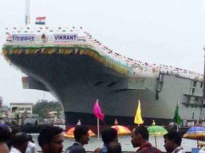 Video : India milestone as it launches own aircraft carrier Vikrant