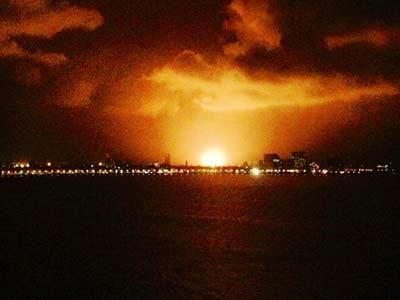 Video : INS Sindhurakshak submarine explodes, 18 sailors feared dead