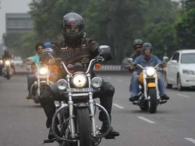 Video : On Independence Day, Harley Owners' Group ride for Uttarakhand