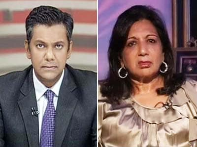 Video : Kiran Mazumdar Shaw to NDTV on state of the economy