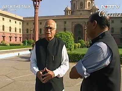 Video : Walk The Talk: L K Advani (Aired: April 2003)