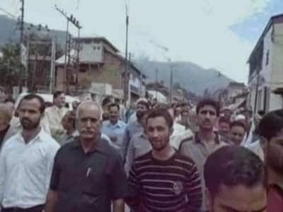 Video : After curfew is lifted, Kishtwar holds rally for peace