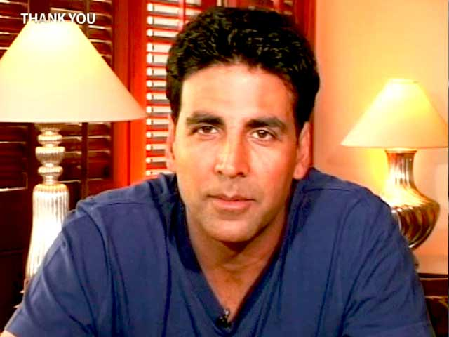 Video : Thank You, Akshay Kumar tells his family (Aired: April 2006)