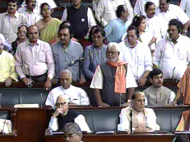 Video : Food Security Bill passed in Lok Sabha, Sonia misses vote