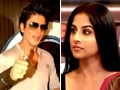 Video: SRK says no to film with Vidya, she sees red