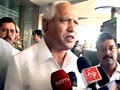 Video : Yeddyurappa arrives in Mumbai for key BJP meet